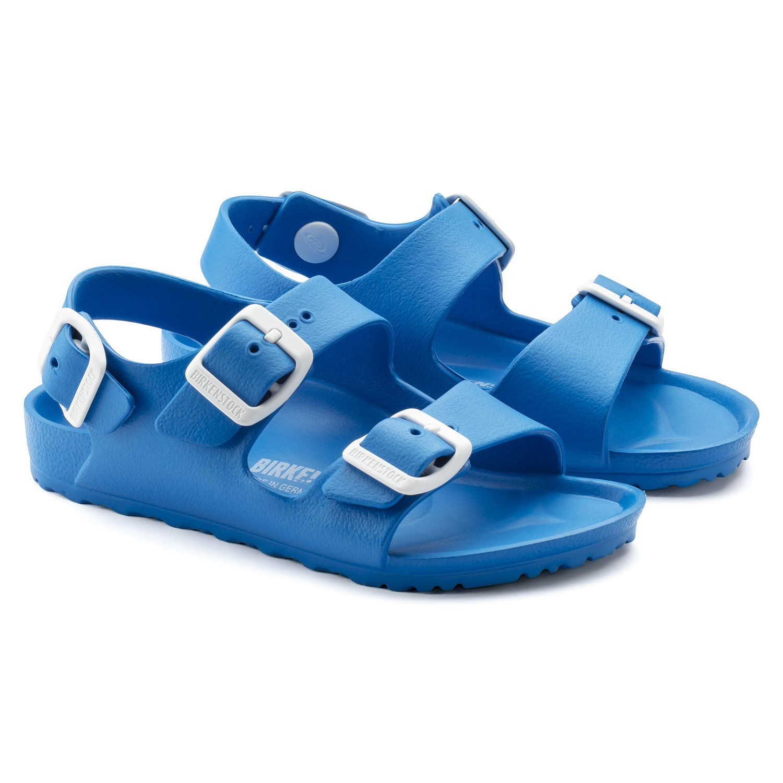 Basutės Milano kids EVA scuba blue 1009355