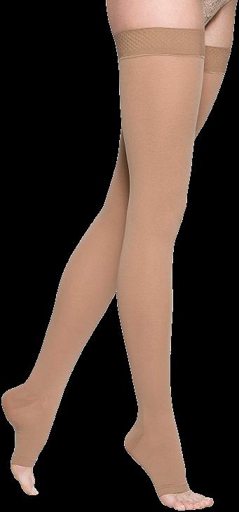 Kompresinės kojinės iki šlaunies viršaus Essential CLASSICAL by SIGVARIS, 1 k.kl.