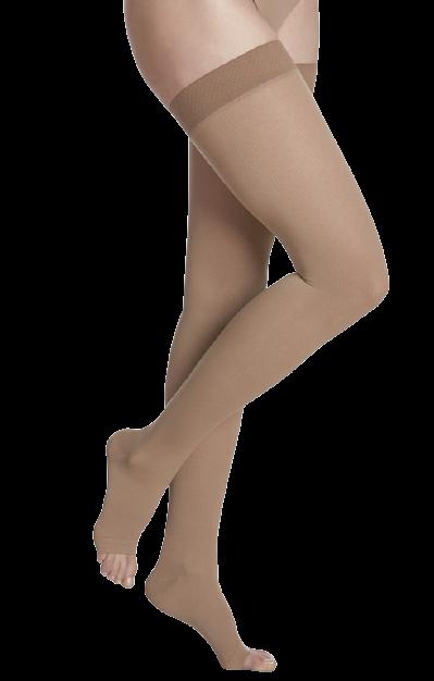 Kompresinės kojinės iki šlaunies viršaus COTTON by SIGVARIS, 1 k.kl.