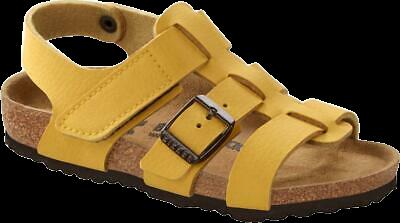Geltonos spalvos moteriškos basutės Birkenstock 1015766