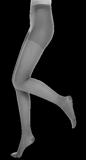 Pilkos spalvos kompresinės pėdkelnės moterims MAGIC COLORS by Sigvaris