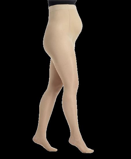 Profilaktinės pėdkelnės nėščiosioms 2 dydis DELILAH 140D by SIGVARIS