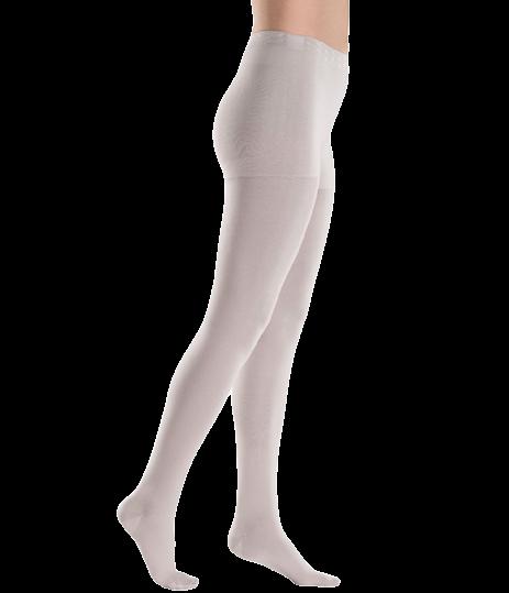 Kreminės spalvos kompresinės pėdkelnės moterims MAGIC COLORS by Sigvaris