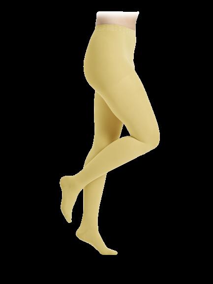 Geltonos spalvos kompresinės pėdkelnės moterims MAGIC COLORS by Sigvaris