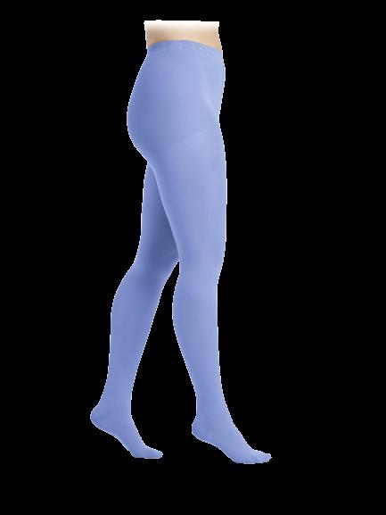 Žydros spalvos kompresinės pėdkelnės moterims MAGIC COLORS by Sigvaris