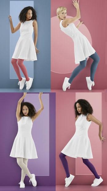 Kompresinės kojinės iki šlaunies viršaus MAGIC Colors by SIGVARIS, 1 k.kl.