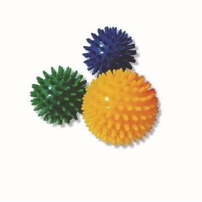 Masažo kamuoliukas su spygliukais