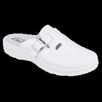 Baltos spalvos ortopedinės šlepetės Dr Orto Med 157M103