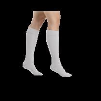 Šviesiai pilkos spalvos kompresinės kojinės iki kelių moterims MAGIC COLORS by Sigvaris