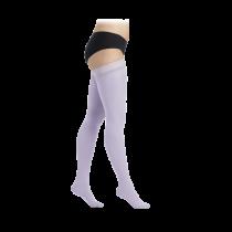 Šviesiai violetinės spalvos kompresinės kojinės iki šlaunies viršaus moterims MAGIC COLORS by Sigvaris