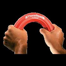 Raudonos spalvos rankos treniruoklis FlexBar