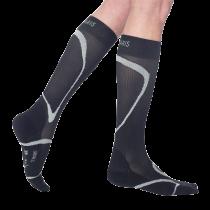 Juodos spalvos sportinės kojinės SIGVARIS SPORTS RUNNING