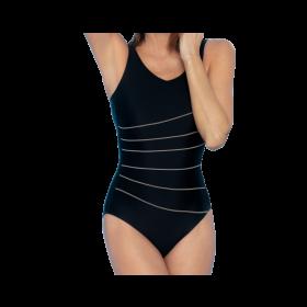Juodos spalvos pooperacinis maudymosi kostiumėlis Ancona 596011
