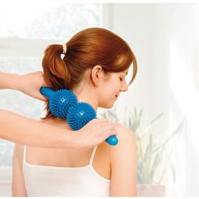 Masažuoklis Spiky Twin Roller