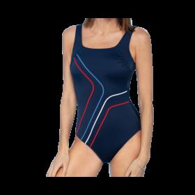 Tamsiai mėlynos spalvos pooperacinis maudymosi kostiumėlis Monaco 596031