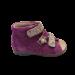 Violetinės spalvos vaikiškos basutės DAWID 1042