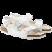 Baltos spalvos moteriškos basutės Birkenstock 34731