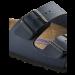 Tamsiai mėlynos spalvos vyriškos šlepetės Birkenstock 51061