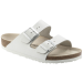 Baltos spalvos moteriškos šlepetės Birkenstock 51131