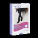 Šviesiai violetinės spalvos kompresinės pėdkelnės moterims MAGIC COLORS by Sigvaris