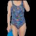 Spalvotas pooperacinis maudymosi kostiumėlis Lagos 596091