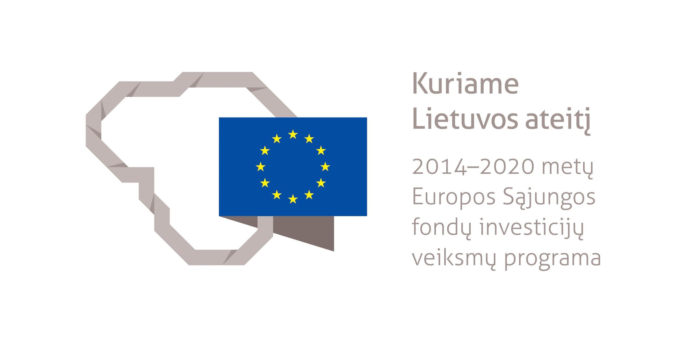 2014-2020 m. ES fondų investicijų ženklas